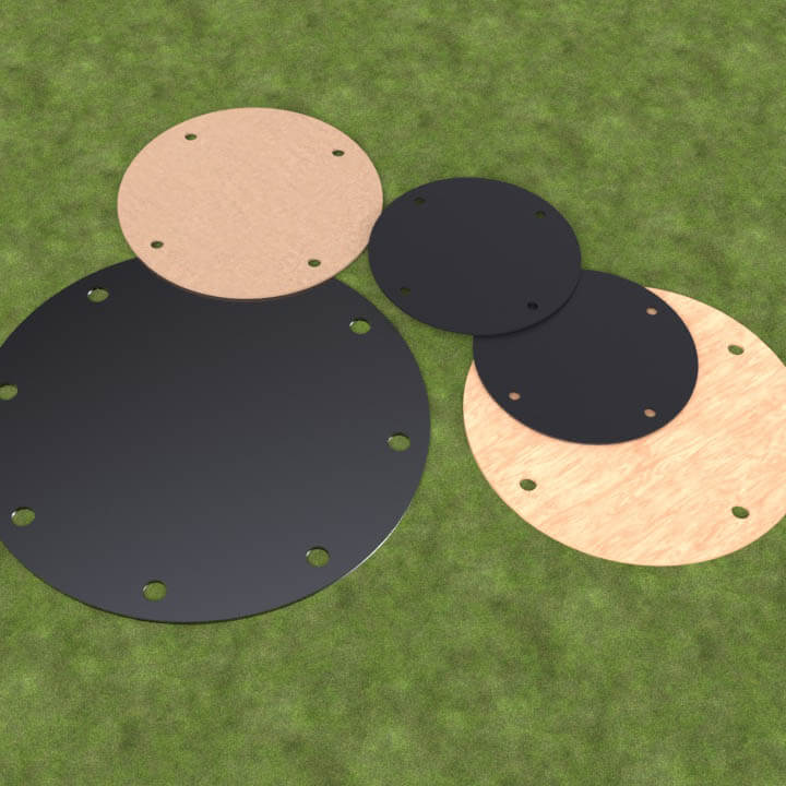 self-adhesive flange protection